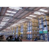 ISO9001 Warehouse Pallet Shelving Systems , Metal Rack Storage Systems for sale