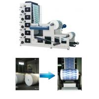 China High Speed Flexo Printing Machine 50-60m/Min Max Width 850mm Four Color Gray on sale