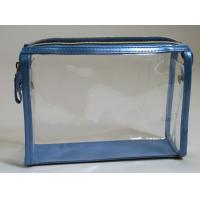 Non-Phthalate 0.06mm - 1.0mm PVC Packaging Bags With Rope / Zipper / Handle