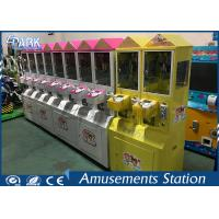 Different Color Mini Toy Crane Machine / Grab Toy Machine CE Certificated for sale