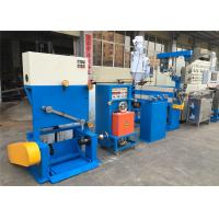 Industrial PVC Cable Extruder Machine With Double Axis Pay Off Straightening Device Manufactures