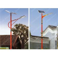 Yard 55w Solar Powered Lights Flux 7425lm Color Temp 4000K IP67 Grade