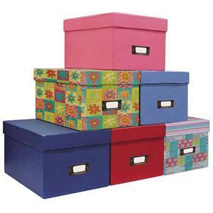 China folding paper cd jewel case storage box on sale