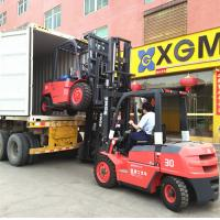 Flexible Body Forklift Diesel 3 Ton , 4 Wheel Forklift Truck For Food Industry Manufactures