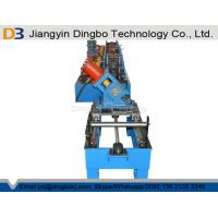 Galvanized Sheet Metal Roller Purlin Rolling Machine With Chain Or Gear Box Driven System