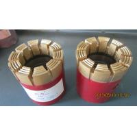 China Red PQ  Rock Drill Bits Surface Set Impregnated Casing Shoe Bit For Drilling on sale