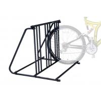 Metal Gravity Bike Stand , Bicycle Display Racks For Storage Manufactures