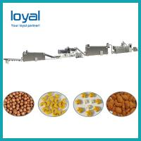 Breakfast Fruit Loops / Cereal Corn Flakes Processing Line with CE Standard Manufactures