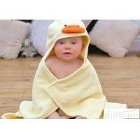 Cute Duck Bath Towel , Kids Baby Bath Towel With Hood Various Colors