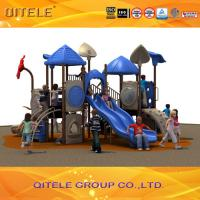 Used commercial playground equipment  plastic playground slide Manufactures