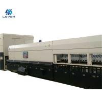 New Bi-direction Combined Flat and Curved Glass Tempering furnace oven plant Manufactures