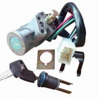 Motorcycle Ignition Key Switch/Electric Lock Key Set, OEM Available Manufactures