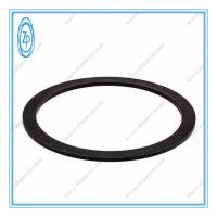 Black Nylon ABA Back Up Ring Hydraulic Seal Solvent / Abrasion / Weather Resistance Manufactures