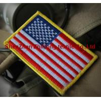 China American flag military embroidery badge patches armband on sale