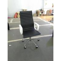 Manager High Back Leather Executive Chair Fashionable Design Customized Size Manufactures