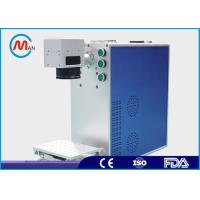 Metal Compact Laser Marker Machine With Fiber Laser Source Environmental Protection Manufactures