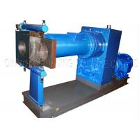 Single Screw Hot Feed Rubber Extruder Equipment With Transmission System Manufactures