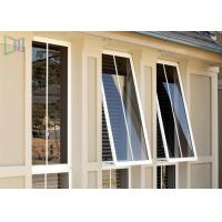 Double Glazed Aluminium Awning Windows Anti Theft / Air Proof For Commercial Manufactures