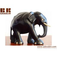 Black handmade wood animal sculpture Holiday Decoration,promotion gift Manufactures