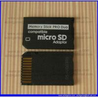PSP microSD to MS PRO Duo Adapter PSP repair parts Manufactures