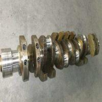 Machinery Engine Nodular Iron Crankshaft Casting Technology Applied Manufactures