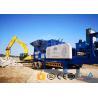 Granite Crawler Mobile Crusher Wide Use Cone Mobile Crusher Machine for sale