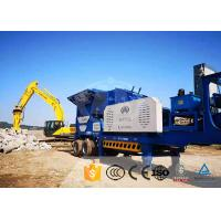 Heavy Duty Mobile Stone Crusher Plant Aggregate Mobile Crushing Machine for sale