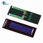 0.5V 0.07W mini Epoxy Solar Panel for garden lights ZW-5318 solar panel photovoltaic for Handmade toys Manufactures