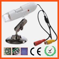 China 25X-400X AV Handheld Digital Microscope on sale