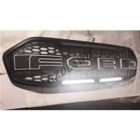 Matte Black F150 Type Grille For Ford Everest 2015 2016 Front Grille With LED Manufactures