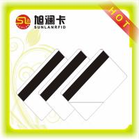 Magnetic Strip Contactless Smart Card ISO 14443A 13.56MHz NFC Funtion Chip PVC Material Manufactures