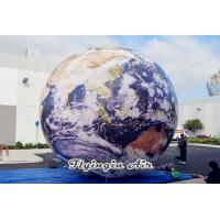 China Customized Inflatable Earth for Outdoor and Indoor Decoration on sale