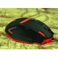 Custom Bright Led Wired Gaming Mouse 6D Ultra Precise Scroll Wheel Manufactures