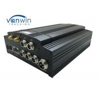 China 720p G-Sensor GPS GSM 3G WIFI 4G HDD Mobile DVR 4ch MDVR With Camera Monitor CMS on sale