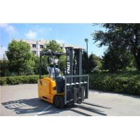 Three Wheel 1.6 Ton High Lift Forklift , Solid Tire Warehouse Lift Truck Manufactures