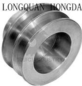 Customized Aluminum Timing Pulleys , CNC Machining Aluminum V Belt Pulley Manufactures