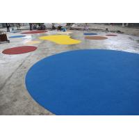 Environmental Playground Rubber Flooring , Fire Resistance Rubber Playground Material Manufactures