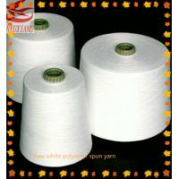 high quality polyester spun virgin yarn 44s/1 for knitting Manufactures