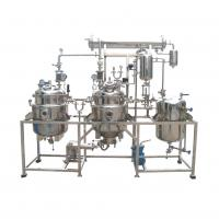 LTN-100L-5000L High Efficiency stainless steel Ganoderma Grape seed ginkgo ginger extraction concentration machine Manufactures