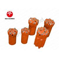 Alloy Steel Mining Carbide Button Bits , Hardest Drill Bits High Efficiency Manufactures