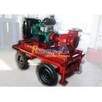China High volume diesel irrigation water pump agriculture for water supply facilities on sale