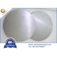 China UNS R05400 Tantalum Disc 99.95%/99.99% With Excellent Corrosion Resistance on sale
