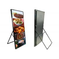 China Commercial LED Poster Display For Banks / Chain Shops P3mm 160° View Angle on sale