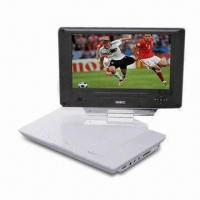China Portable DVD Player with Slim 9-inch LCD Digital Widescreen Display on sale