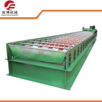Quality Trapezoidal Roofing Sheet Rolling Machine Cold Roll Forming Machine Model 1020 for sale