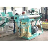 Animal Feed Pellet Mill Press Machine 110kw 380V 50HZ Single Double Conditioner Manufactures