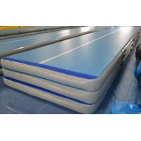 Buy cheap Inflatable Gymnastics Tumbling Mats Fire Retardant High Strength from wholesalers