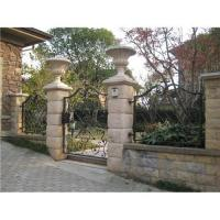 New style wrought iron fence Manufactures