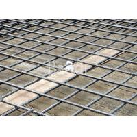 Thread Bar Steel Reinforcing Wire Mesh Welded 200 X 200 Mm For Tunnel Building Manufactures