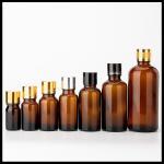 Tamper Proof Cap Amber Glass Dropper Bottles Multi Colors Choice Safe Storage Manufactures